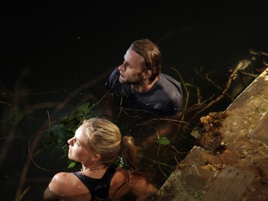 Eloise Mumford and Joe Anderson in The River.</p> <p>Photos copyright 2012 ABC, Inc.