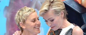 Ellen DeGeneres and Portia de Rossi Have the Look of Love Down