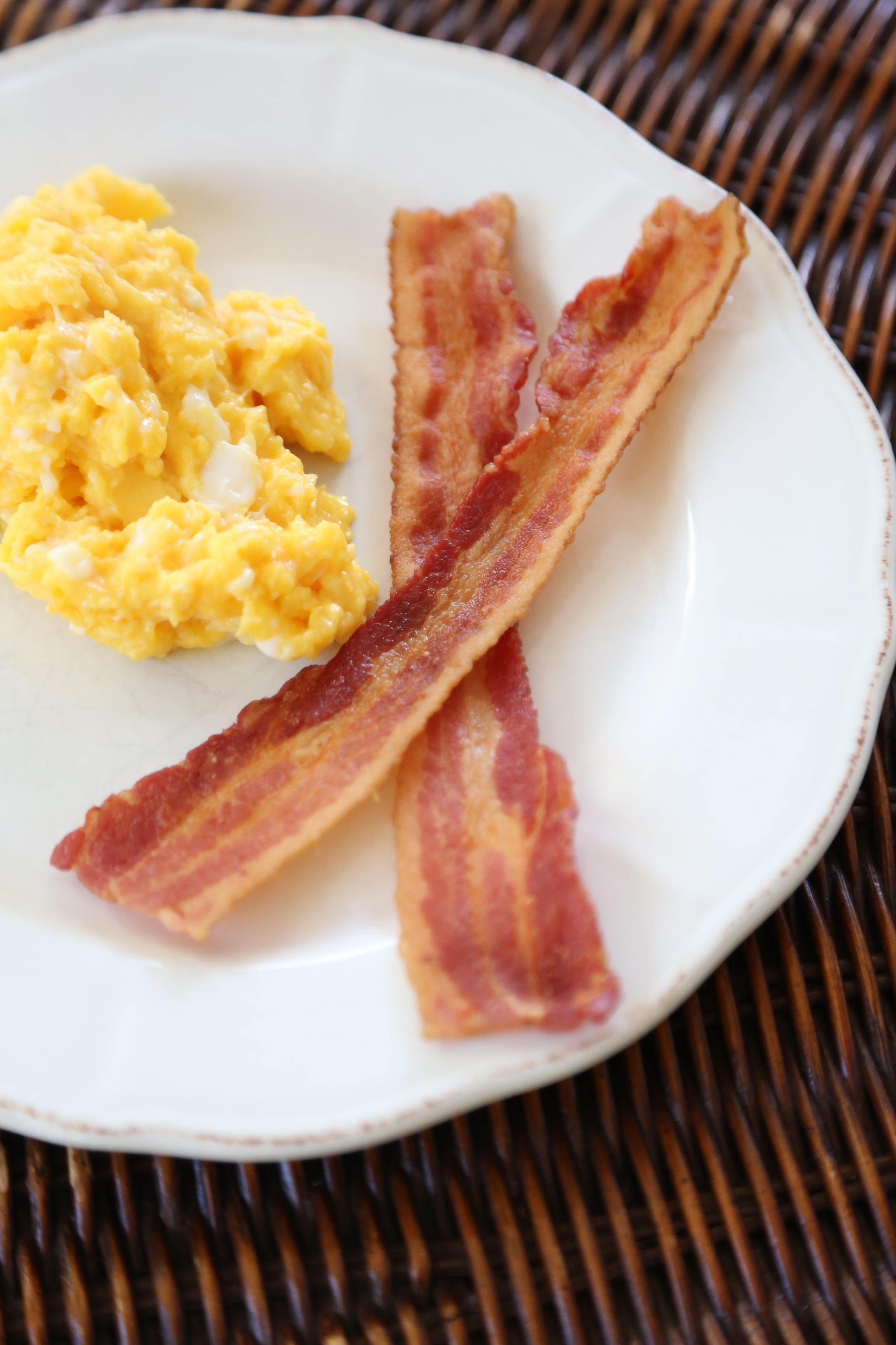 How to Scramble Eggs in Bacon Fat | POPSUGAR Food