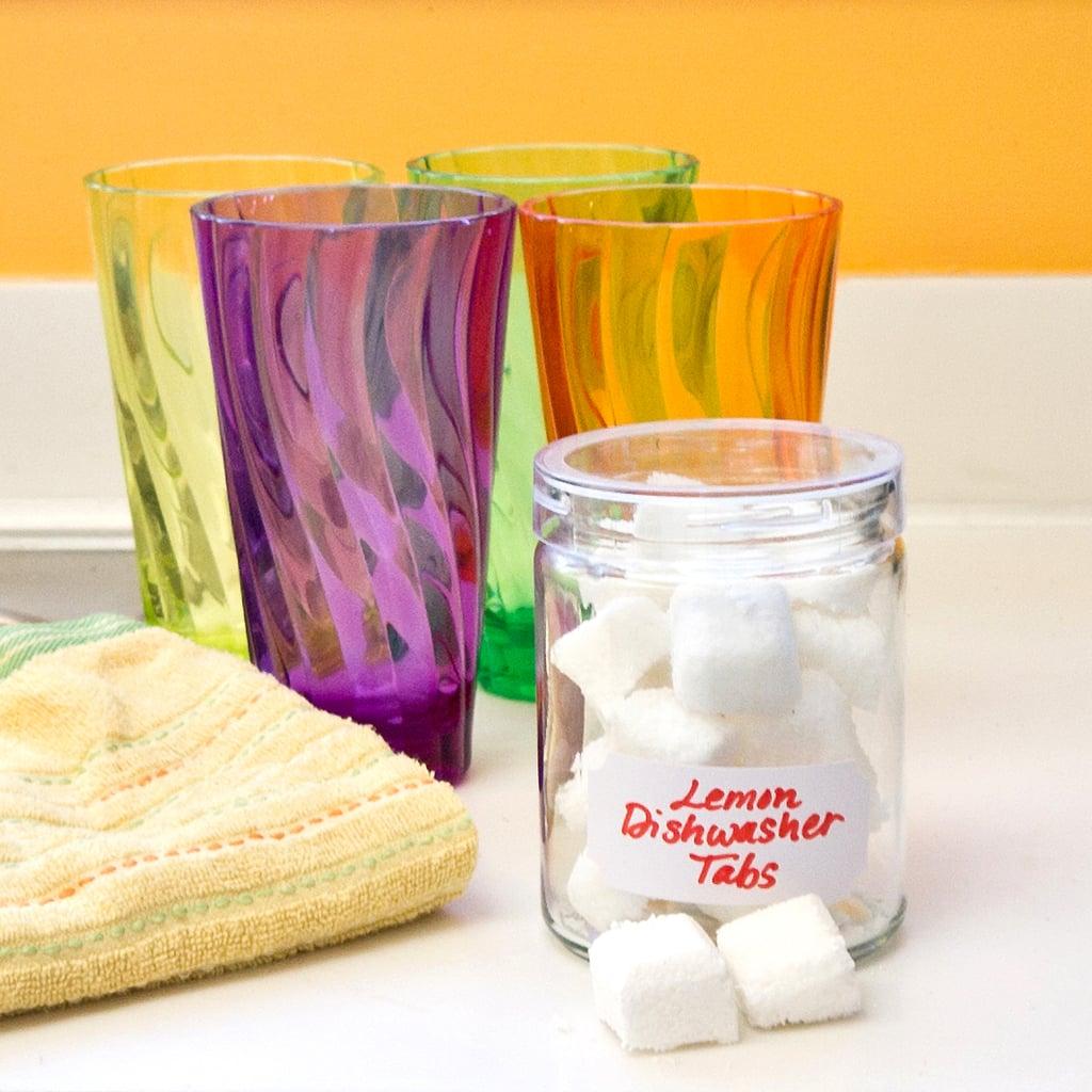 Diy Dishwasher Detergent Tabs Popsugar Smart Living