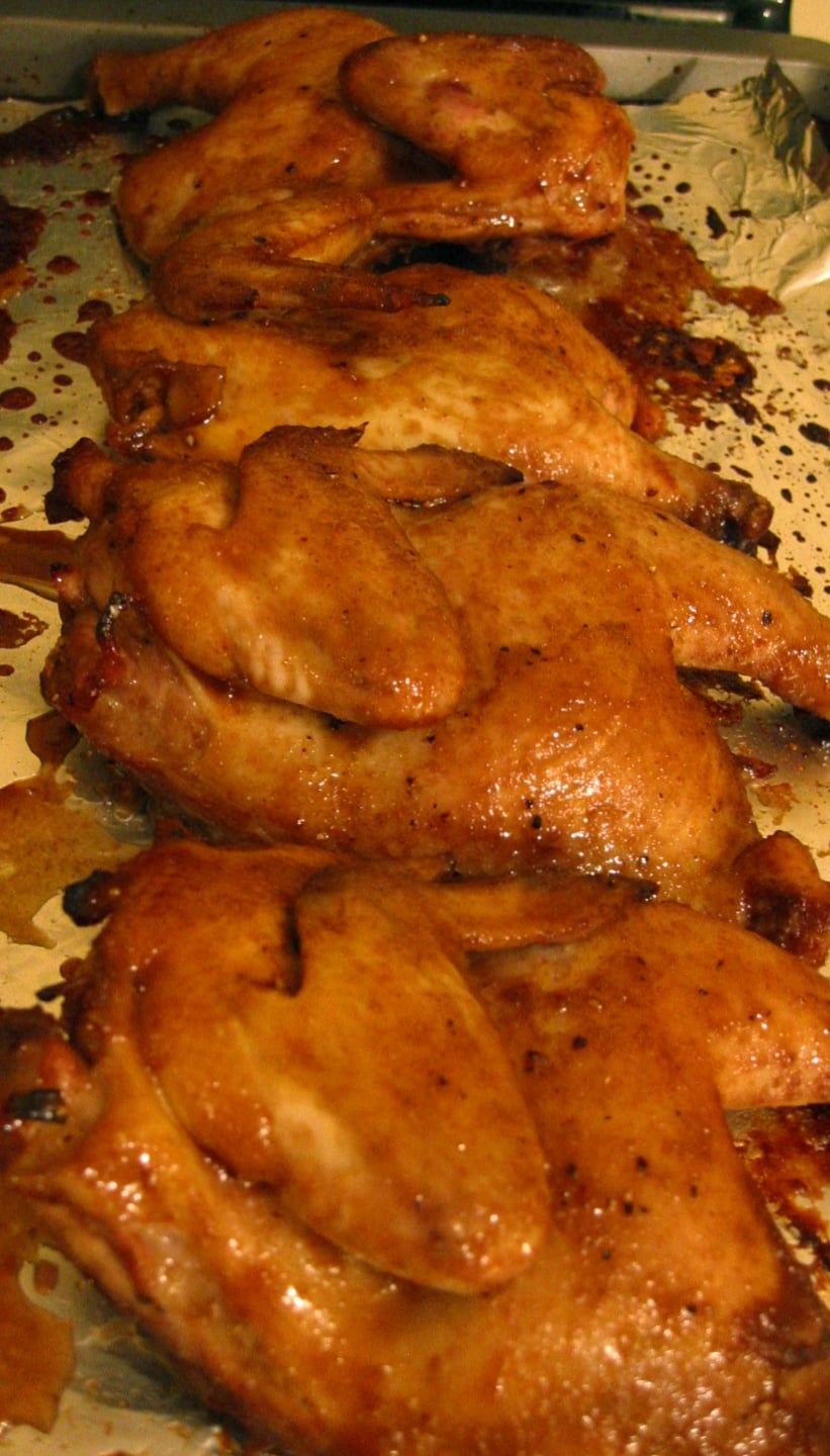 After the cornish hens are done baking, allow them to sit for at least 10 minutes. This technique will allow the juices to redis