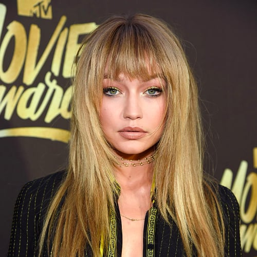Gigi Hadid Bangs MTV Movie Awards 2016
