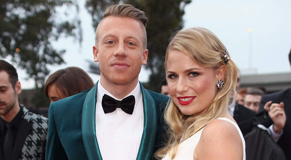 Macklemore Napping With Daughter Photo | POPSUGAR Celebrity