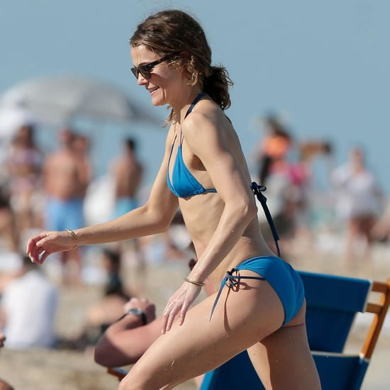 Keri Russell Wearing a Bikini in Miami | Pictures