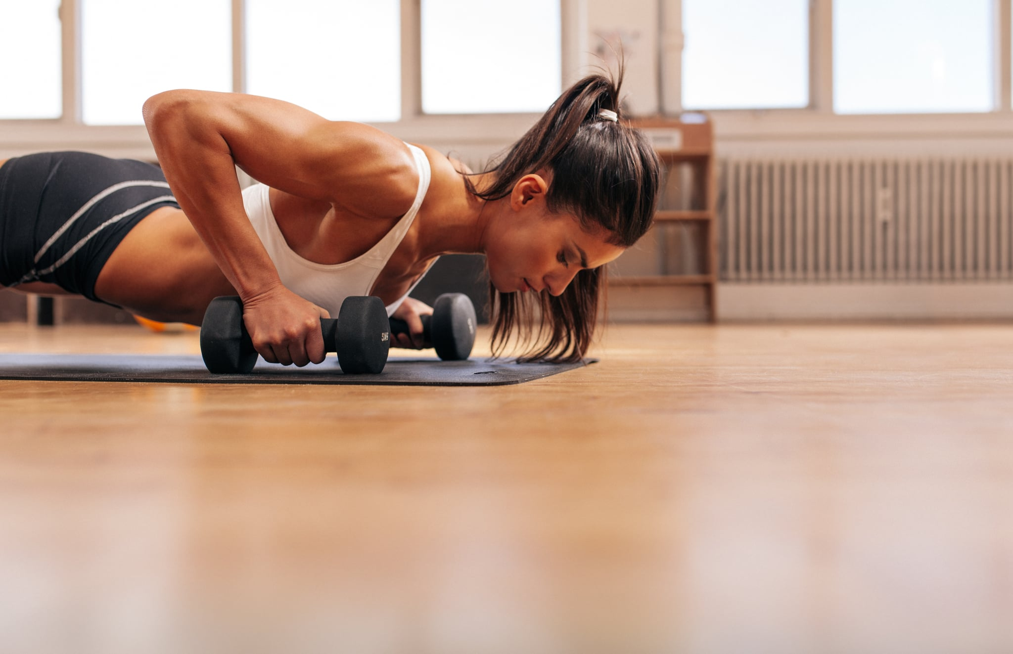 The Only 3 Exercises You Need For a Total-Body Sweat Session