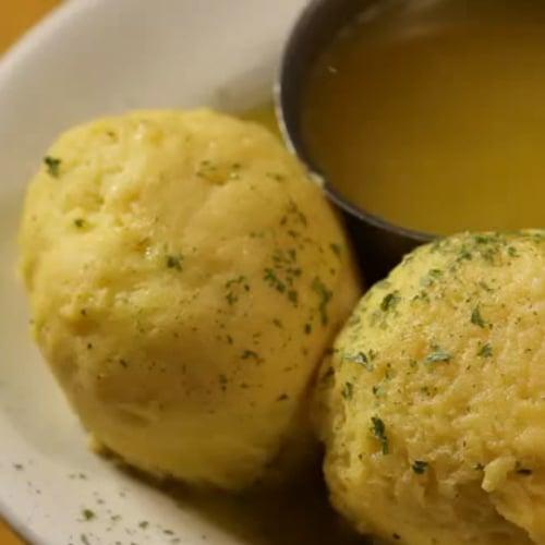 Carnegie Deli Matzo Ball Soup