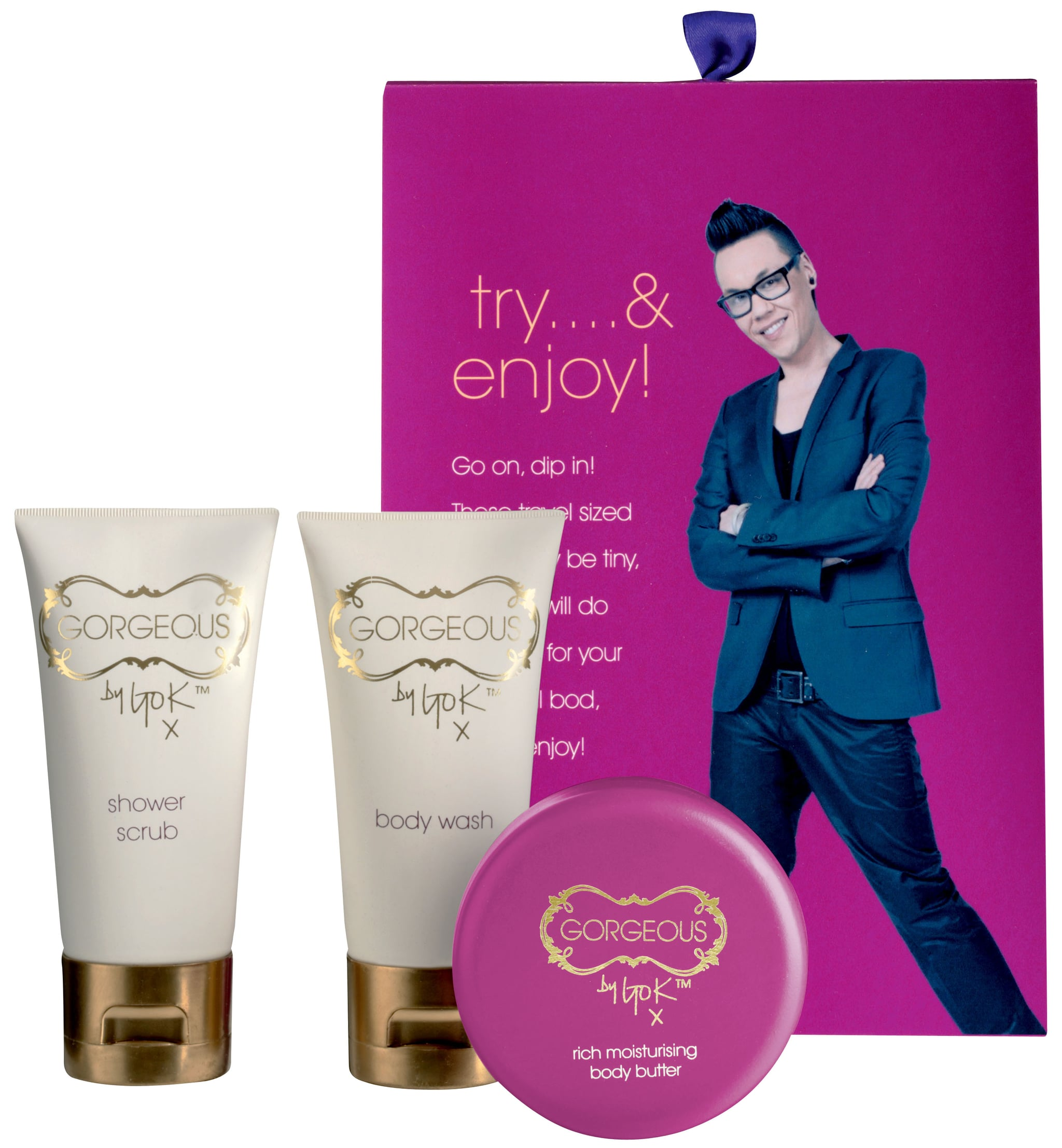 Gok ... Try and Enjoy! (£8)