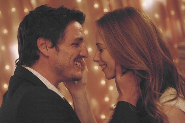 Pedro Pascal and Jaime Ray Newman in Red Widow.
