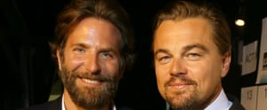 Leonardo DiCaprio Has a Guys' Night Out at a Charity Gala With Bradley Cooper, Jonah Hill, and Tobey Maguire