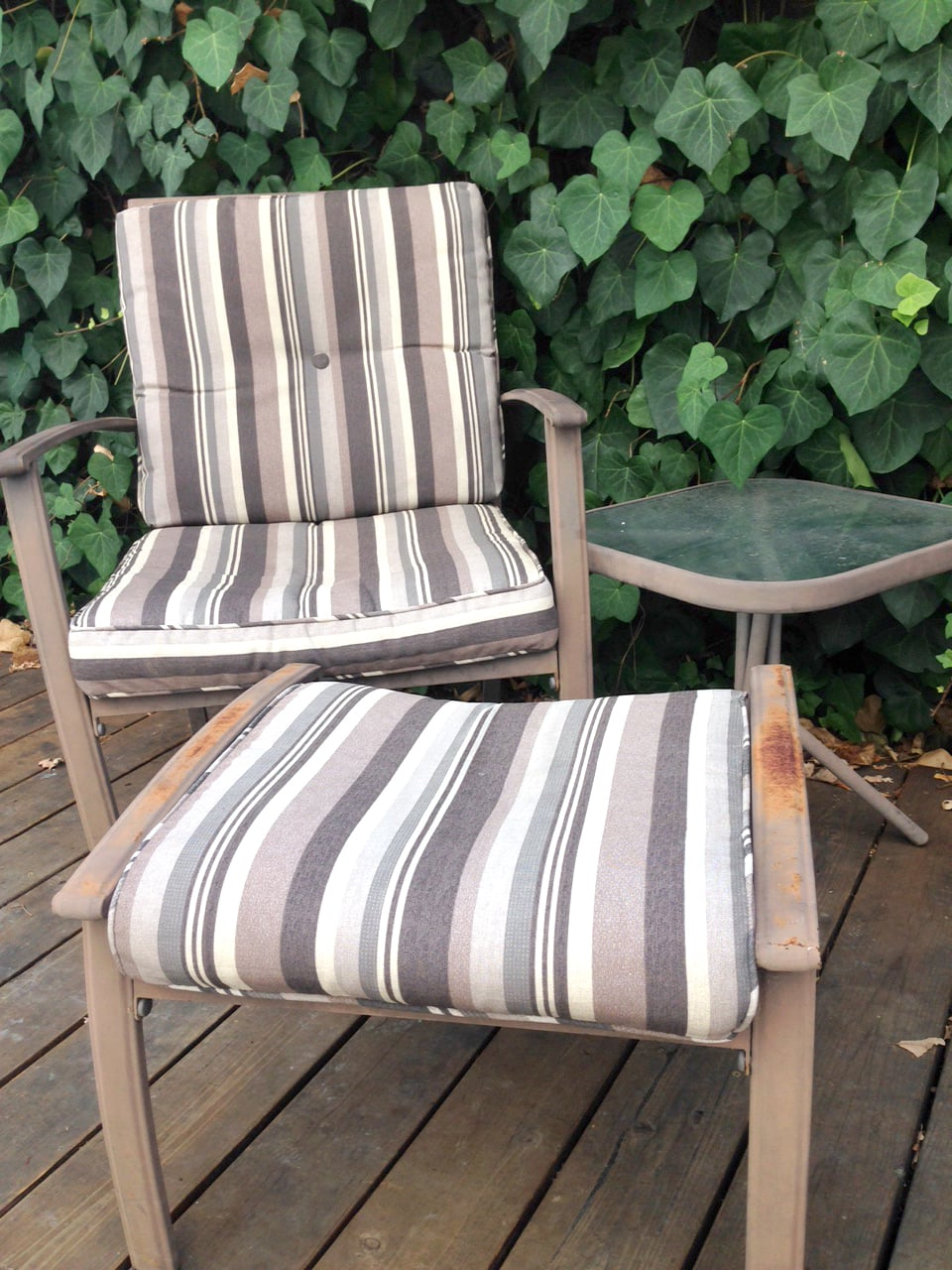 how to spray paint outdoor furniture popsugar home