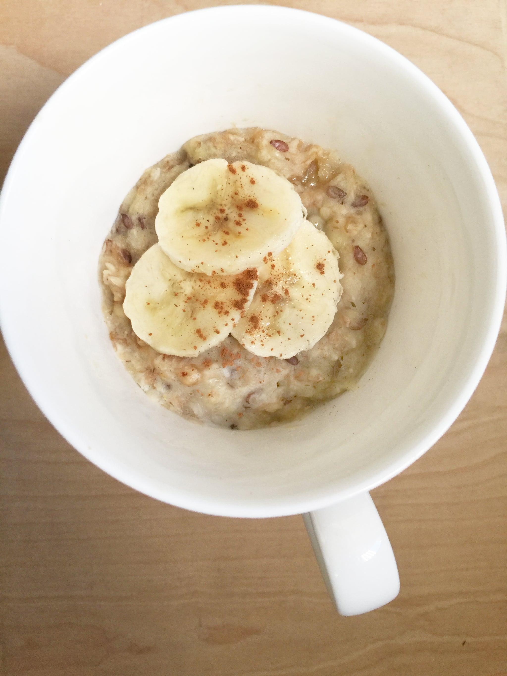 how to make porridge in a mug