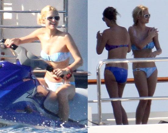 Paris Hilton Bikini Photos in Sardinia After Allegedly ...
