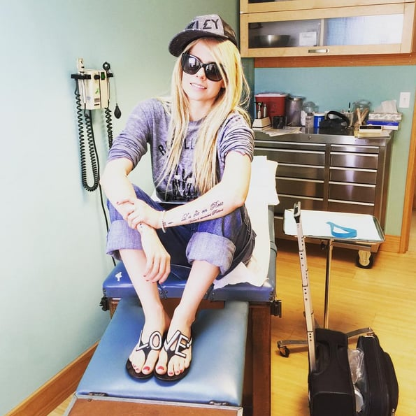 Avril Lavigne Shares a Health Update and an Inspiring Message
