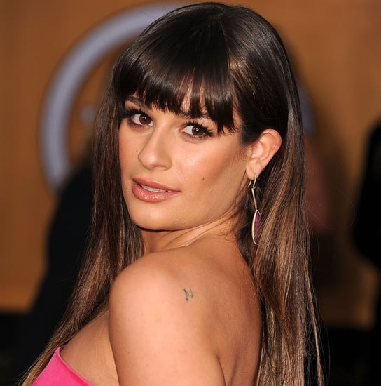 Lea Michele Tattoos   Pictures