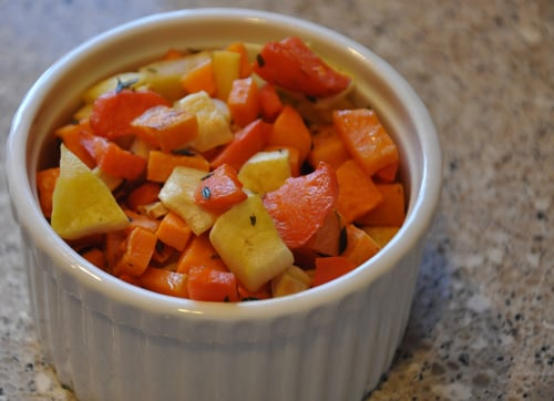 Roasted Root Veggies for Babies and Adults too!