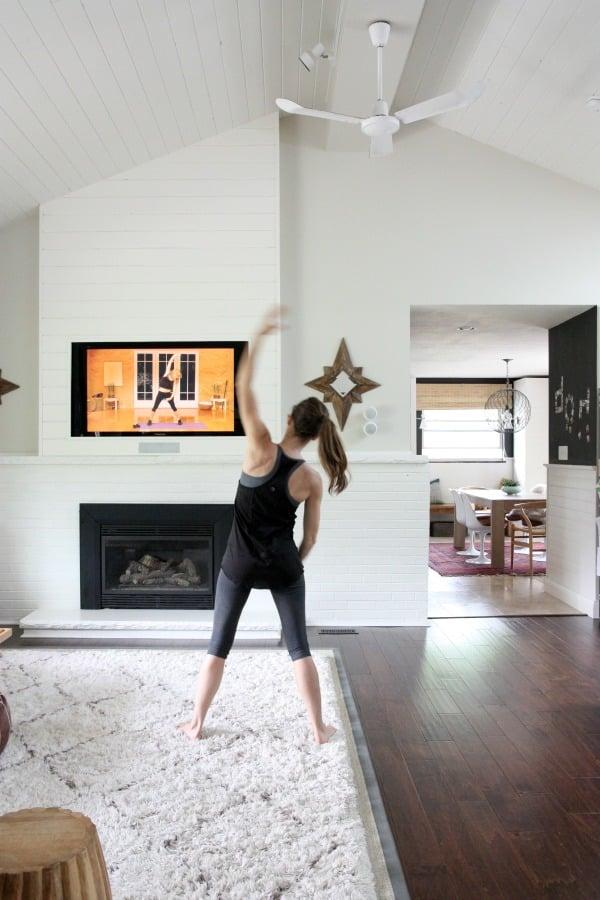 How to Make a Home Workout Room | POPSUGAR Home