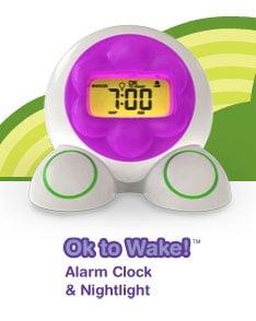 ok to wake alarm clock manual
