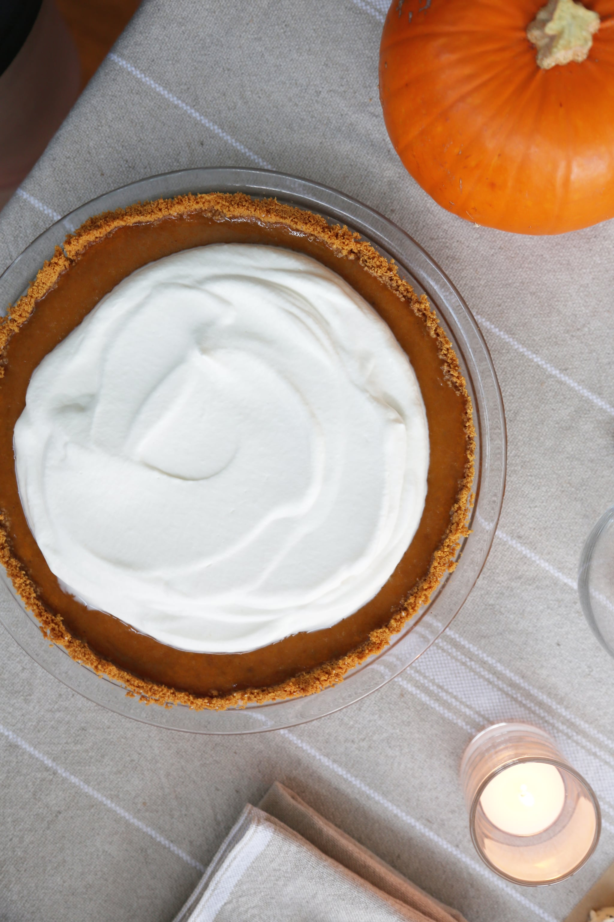 This Super Simple Graham Cracker Crust is Perfect for Pumpkin Pie