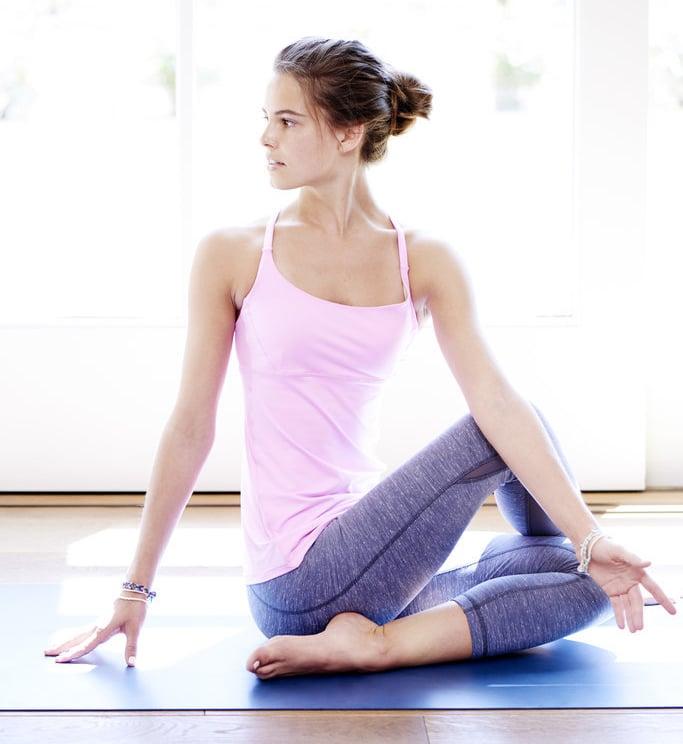 how many calories burned yoga x
