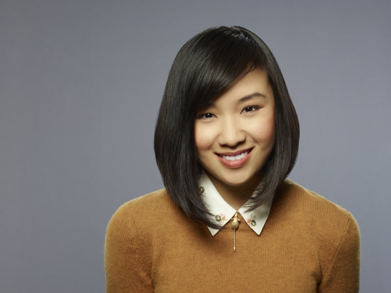 Ellen Wong as Mouse on The Carrie Diaries.