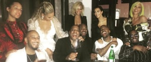 Beyoncé and Jay Z Party With Kanye West and Kim Kardashian After the VMAs