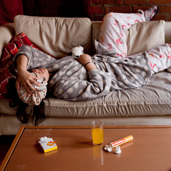 How to Deal With Being Sick When You're a Mom