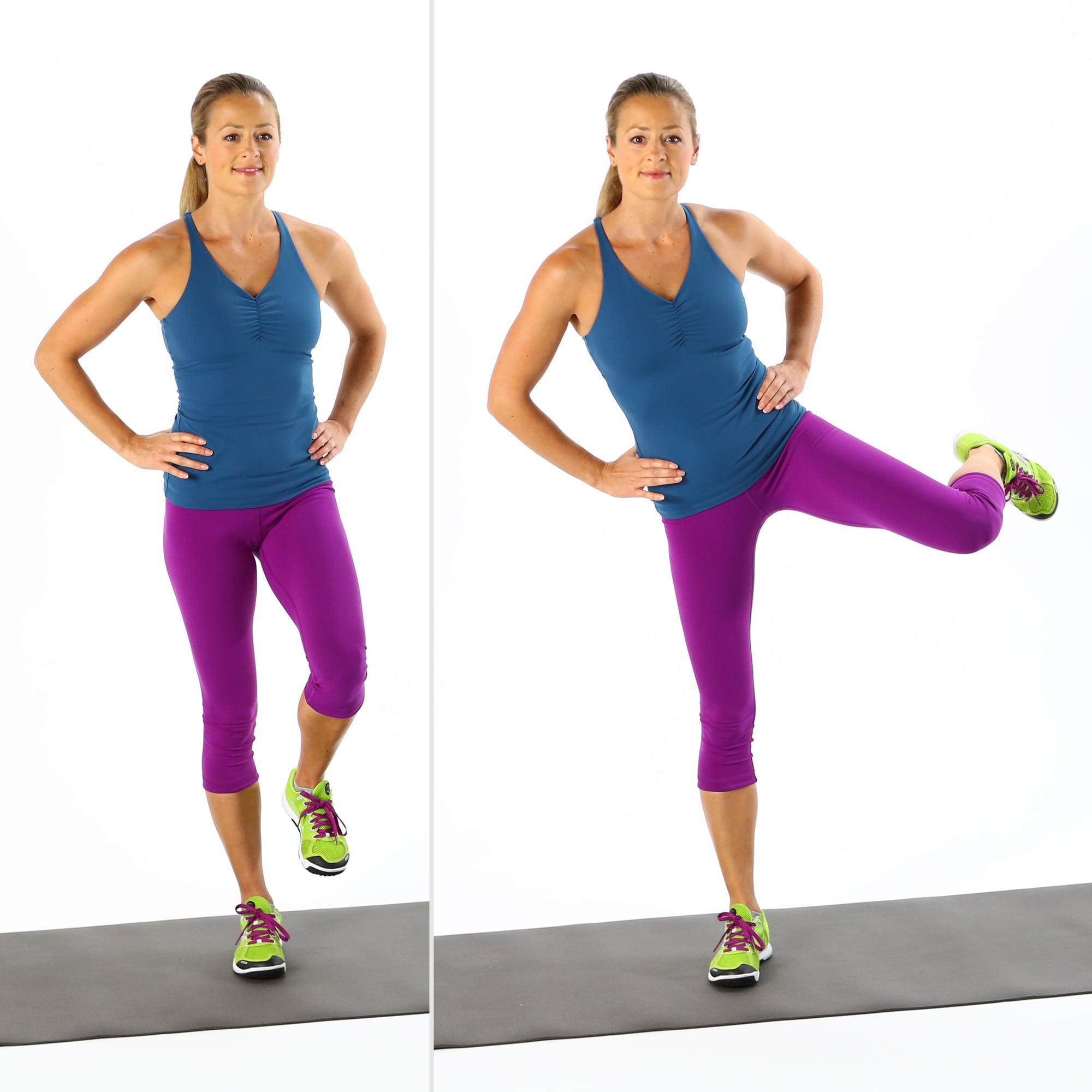 How to Do the Standing Dirty Dog | POPSUGAR Fitness