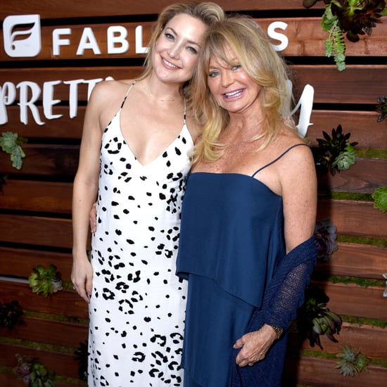 Kate Hudson and Goldie Hawn at Book Launch Party