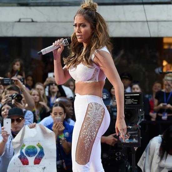 Jennifer Lopez's Selena-Inspired Performance Outfit
