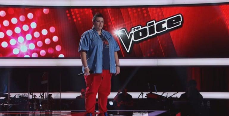 Jess Berney Blind Audition on The Voice Australia 2014