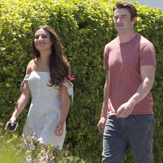 Lea Michele and Robert Buckley Pictures June 2016