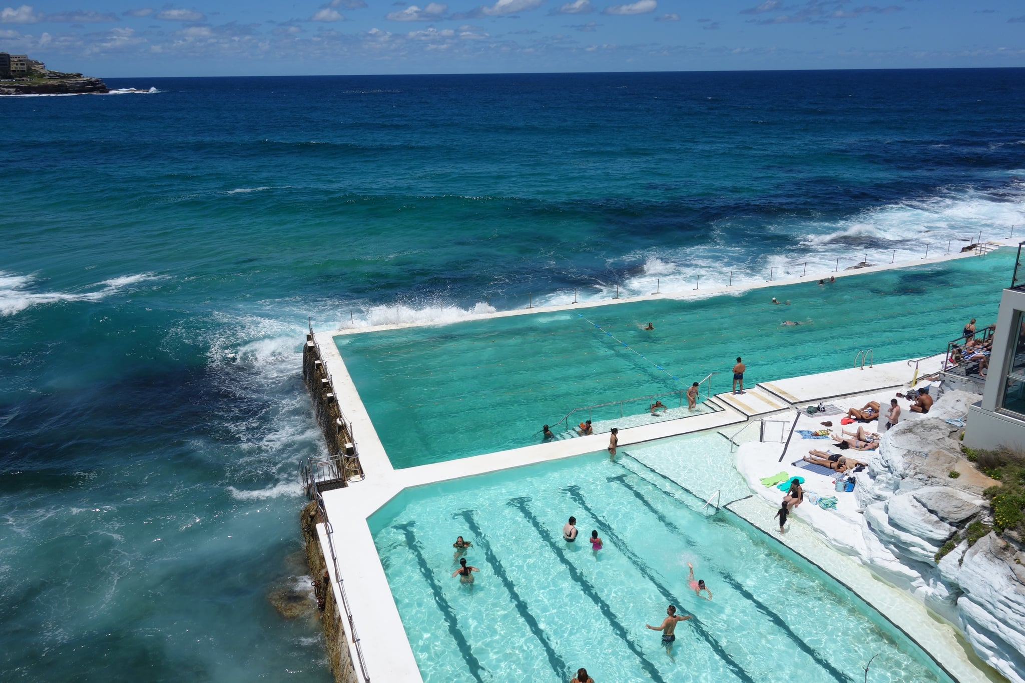 how to swim in icebergs pool in bondi beach popsugar smart living