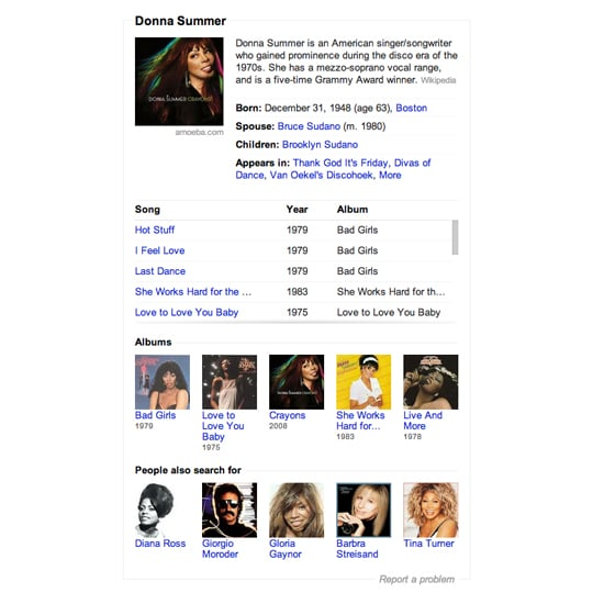 how to get your band on google knowledge graph