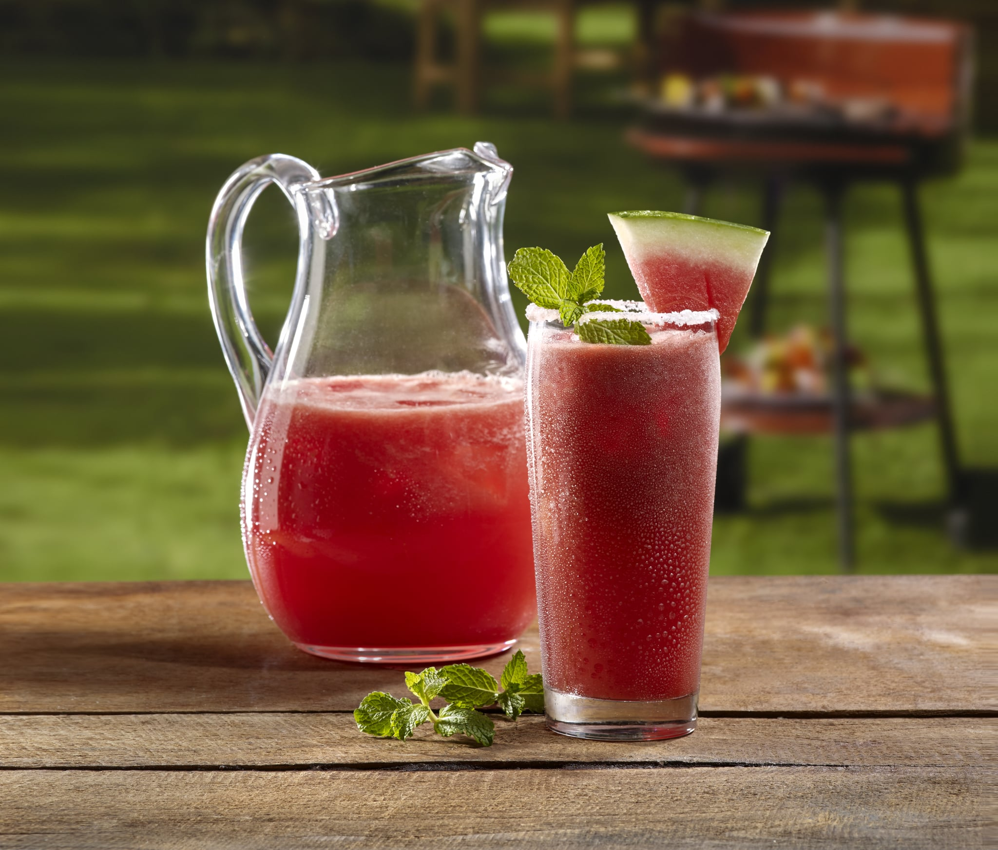 Refreshing Doesn't Even Begin to Describe This Watermelon-Spiked Margarita