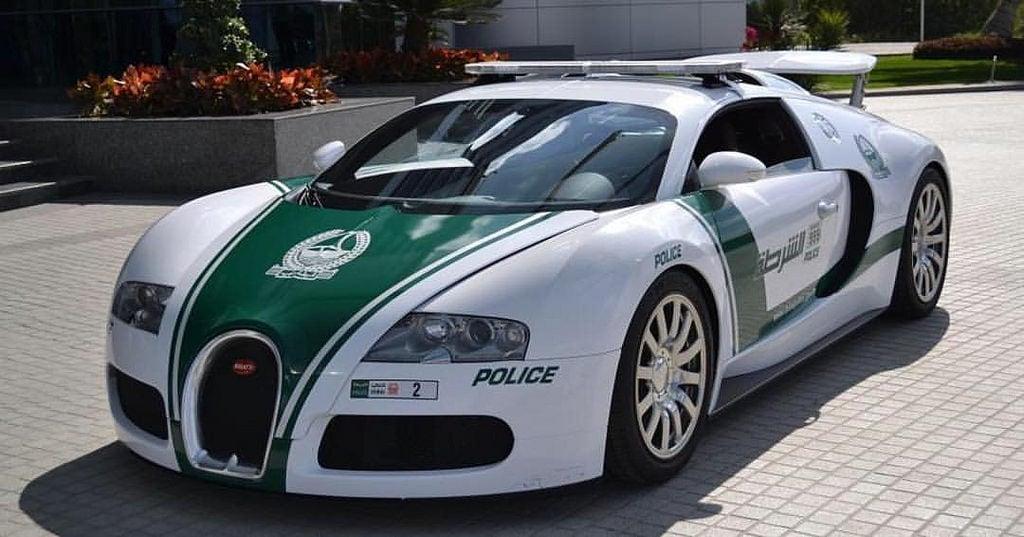Dubai Bugatti Police Car