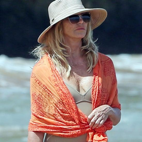 Goldie Hawn in Her Bathing Suit in Hawaii June 2016