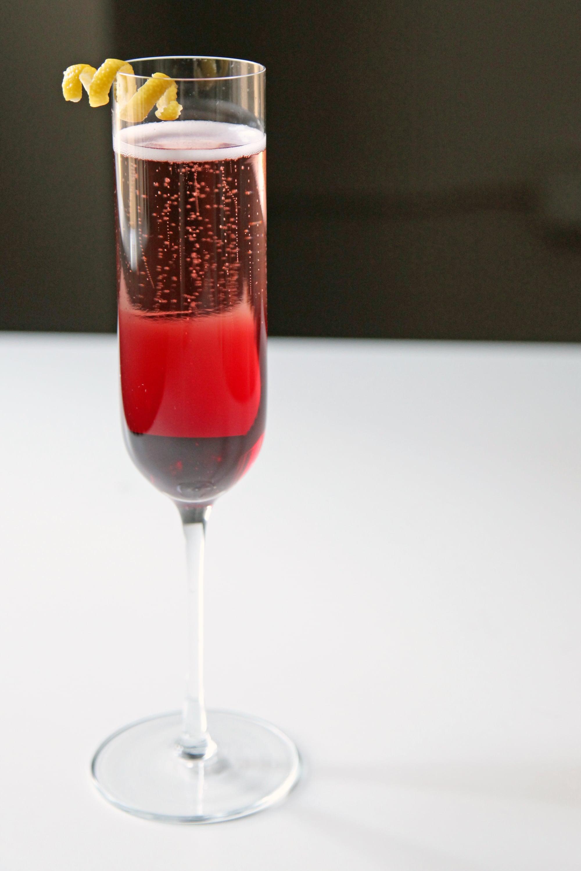 pomegranate champagne cocktail popsugar food. Black Bedroom Furniture Sets. Home Design Ideas