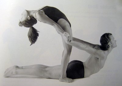 partner yoga pose rising cobra  popsugar fitness
