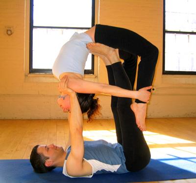 partner yoga poses that work your back  popsugar fitness