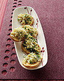 Artichoke-Parmesan Crostini